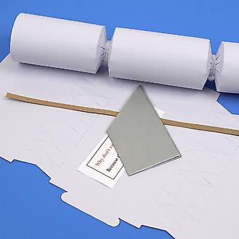 Único faça e; preencha seu próprio diy reciclável Natal Cracker Craft Kit