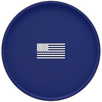 Kasualware 14 pouces Rond Portion Tray Bleu États-Unis