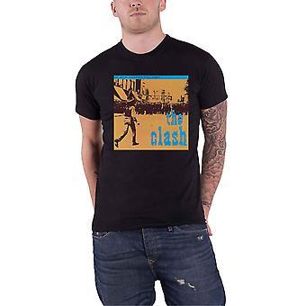 The Clash T Shirt Black Market Band Logo new Official Mens Black
