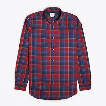 PS Paul Smith  - Cotton Check Shirt - Red/Blue