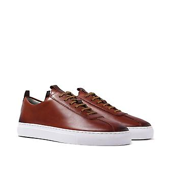 Grenson Sneaker 1 Tan Leather Trainers