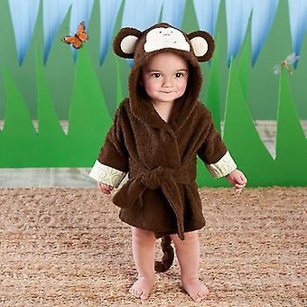 الحيوان الكرتون مقنعين حمام منشفة للأطفال طفل