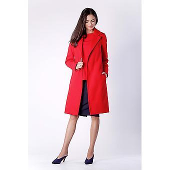 Red nommo jackets & coats v58433