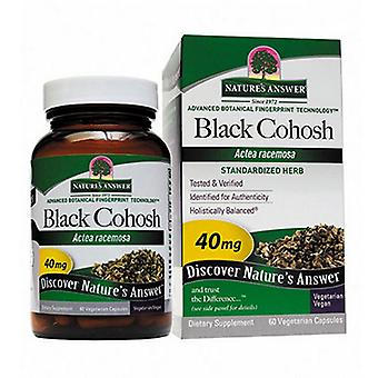 Nature's Answer Black Cohosh Root Standardized, 60 Vcaps