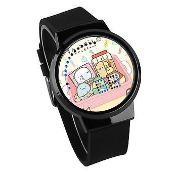 Relógio Luminoso LED Digital Touch Children - Sumikkogurashi #5