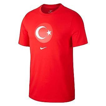 2020-2021 تركيا دائمة الخضرة كريست تي (أحمر)