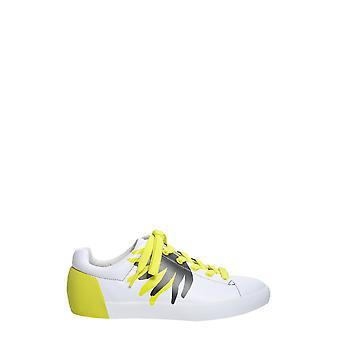 Ash Nikko01 Herren's Weißes Leder Sneakers