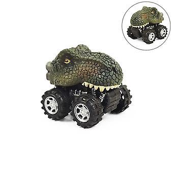 6 Stile Dinosaurier Spinosaurus Modell Mini Spielzeug zurück Auto