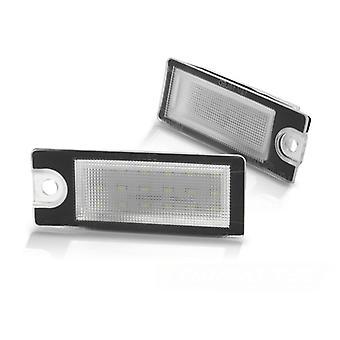 Kennzeichenbeleuchtung LED VOLVO V70 S60 00-04/ S80 99-07/ XC70 01-07 LED