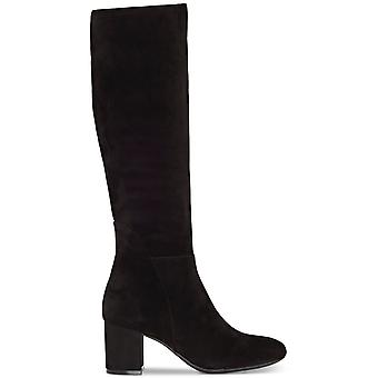 INC International Concepts Womens Radella Leather Round Toe Knee High Fashion Boots