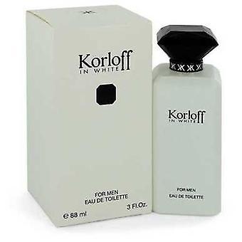 Korloff In White By Korloff Eau De Toilette Spray 3 Oz (men) V728-544213