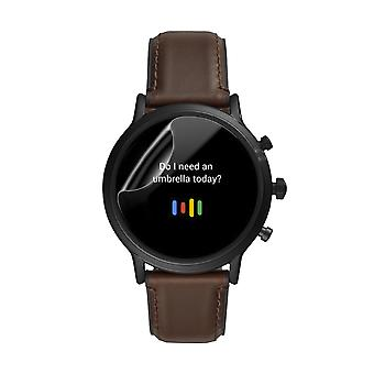 Celicious Matte Flex Anti-Glare 3D Screen Protector Film Compatible with Fossil Gen 5 Smartwatch The Carlyle HR [Pack of 6]