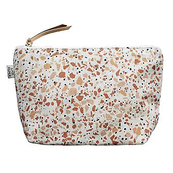 Cotton Canvas Cosmetic Make Up Bag