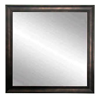 Clouded Bronze Square Or Diamond Framed Vanity Wall Mirror 30''X 30''