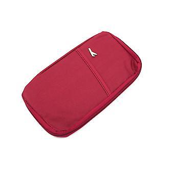 Multifunkčný pasový puzdro s peňaženkou Červená