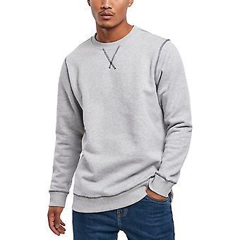 Urban Classics - Organic Flatlock Stitched Crewneck Sweater