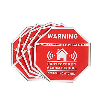 Home House Alarm Security Stickers / Decals Signs For Windows & Doors New