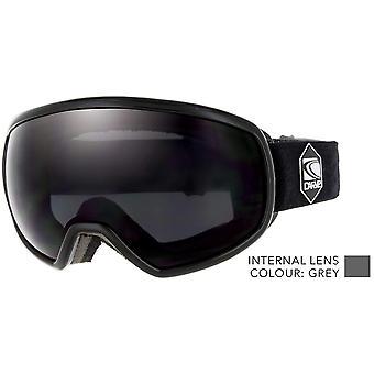 نظارات نحت يطلق النار على جميع نظارات عدسة مستديرة الثلوج goggle