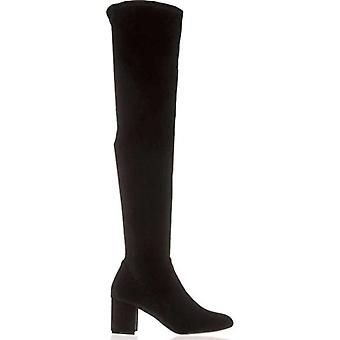 INC International Concepts Womens Rikkie Almond Toe Over Knee Fashion Boots
