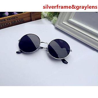 Oculos De Sol Feminino New Fashion Retro Designer Super Round Circle Glasses