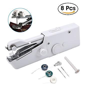 Draagbare handheld mini naaimachine met Aa batterijen - draadloos - Ideaal voor home travel kleine reparaties stiksels