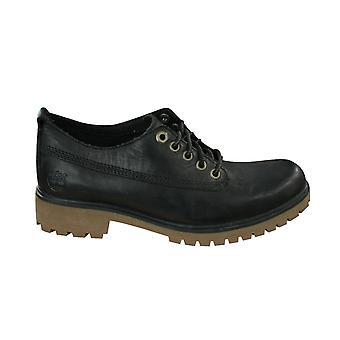 Timberland Womens Lyonsdale Lace Up Oxford Shoe Black A11WA B81A