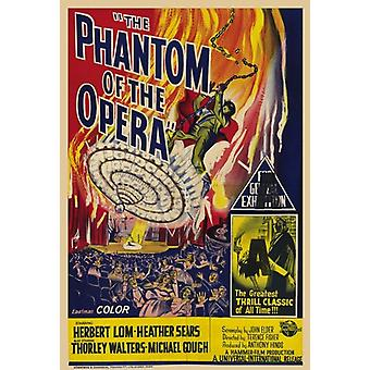 Phantom of the Opera c1962 - style A Movie Poster (11 x 17)