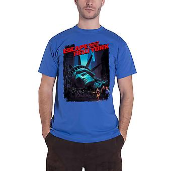 Escape From New York T Shirt Movie Poster new Official Mens Royal Blue