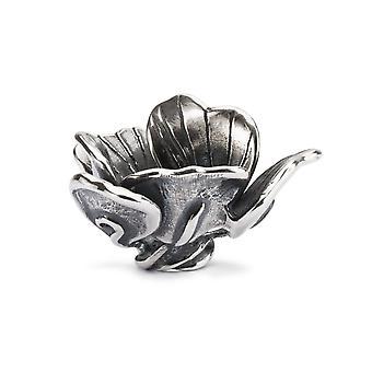 Trollbeads Clarity Flower Sterling Silver Pendant TAGPE-00079