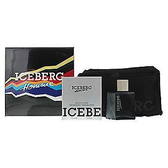 Iceberg Homme Gift Set 100ml EDT + Wash Bag