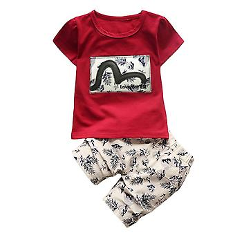 Baby Boy Design Short Sleeve T-Shirt Outfit Clothes