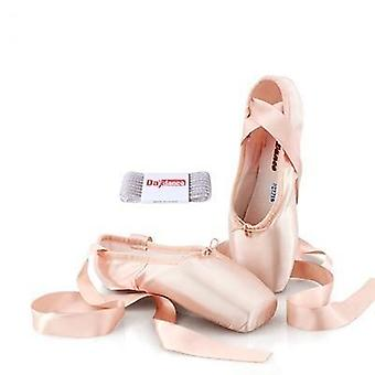 Pointe Satin, Ballet Shoes With Ribbons Set-1