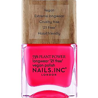 Nails inc Plant Power Nail Polish Collection - And Breathe 14ml (12998)