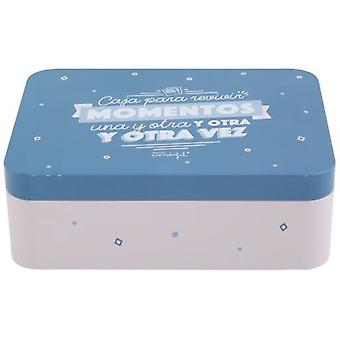 Mr. Wonderful Metal box Box to relive moments again and again and again