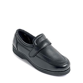 Chums Lincoln Leather Wide Fit Shoe