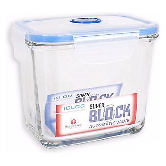 Lunchbox Borgonovo Superblock Hermetisch Glas/14 cm