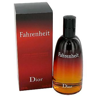 Fahrenheit on Christian Diorin 3,3 oz parranajon jälkeen parranajon jälkeen