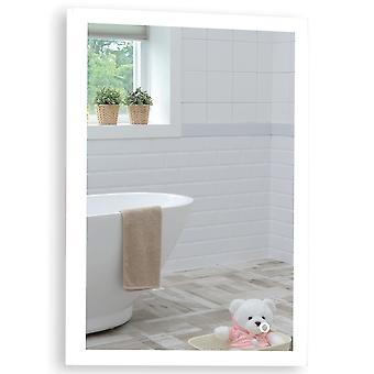 MOOD Rectagular Bathroom Mirror 70cm x 50cm Illuminated
