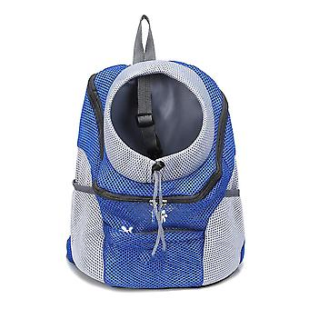 Outdoor Cat Dog Carrier Bags - Breathable Mesh Travel Backpack