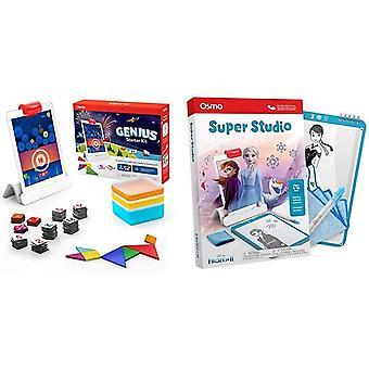 Osmo - Genius Starter Kit for iPad (New Version) - Learning Games & 902-00012 R Super Studio