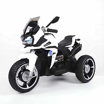 Kids Electric Motorcycle Ontario R1600, Ignition Key Music Function, LED Light USB