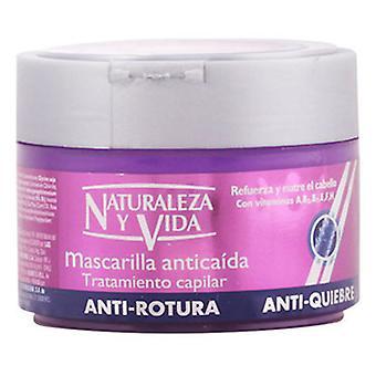 Naturaleza y Vida Hair Loss Anti-Breakage Mask Strengthens And Nourishes 300 ml