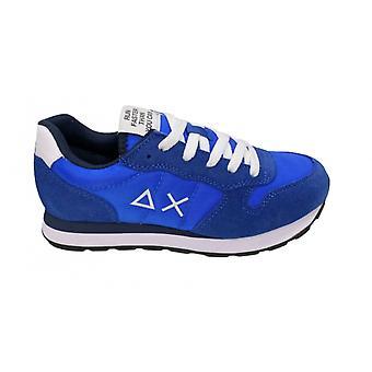 Shoes Baby Sun68 Sneaker Boy's Tom Solid Nylon Blue Royal Zs21su09 Z31301