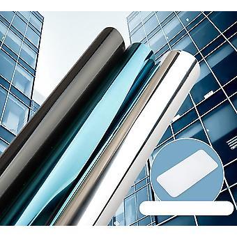 Top One Way Mirror Window Film Vinyl Self-adhesive Reflective Solar Privacy