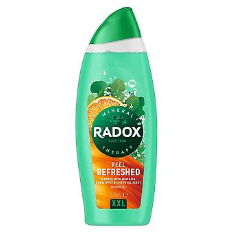6x750ml Radox MineralTherapy Feel Refreshed ShowerGel with Minerals&Eucalyptus