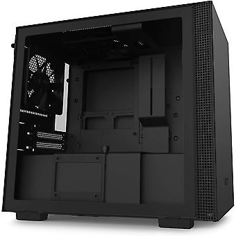 HanFei H210 - Mini-ITX-Gehuse fr Gaming-PCs - Front USB-C Port - Gehärtetes Glas-Seitenfenster -