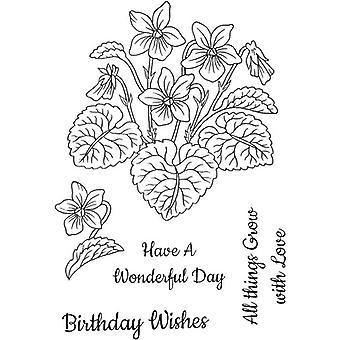 Sweet Dixie Stamp Set - Violets