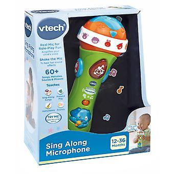 VTech اغنا على طول الميكروفون