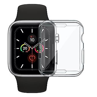 Slim Full Case, Silicone Cover, Clear Tpu, Screen Protector For Iwatch