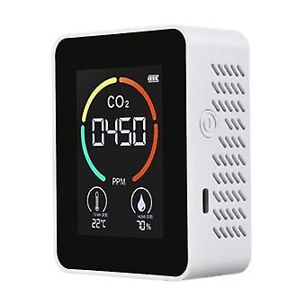 वायु गुणवत्ता डिटेक्टर स्मार्ट Co2 नियंत्रक Co2 वायु गुणवत्ता सेंसर पोर्टेबल co2 मीटर